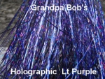 Holographic Flashabou Lt. Purple